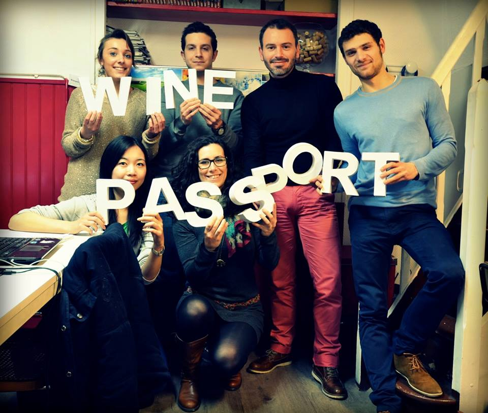 L'équipe de Wine Passport au grand complet