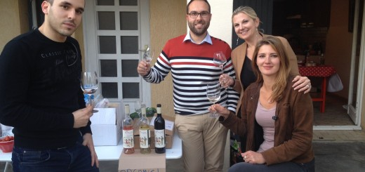 Il y a toujours des collègues pour tester et parler d'un vin et c'est tant mieux !